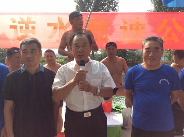 邓州游泳协会逆水竞霸赛完美收官