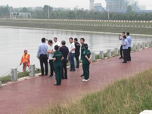 邓州市谭庙水库多举措抓好防溺水工作