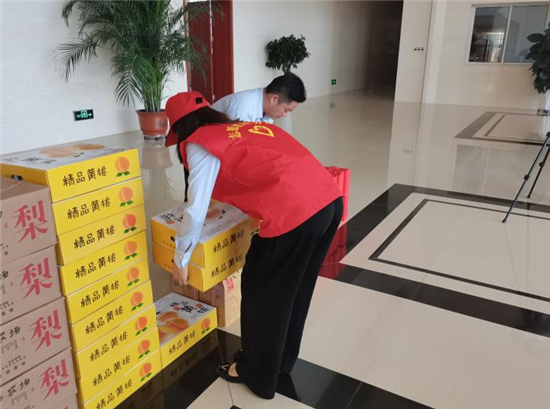 """鼎和保险河南分公司党委公益助农,向""""最美逆行者""""致敬"""