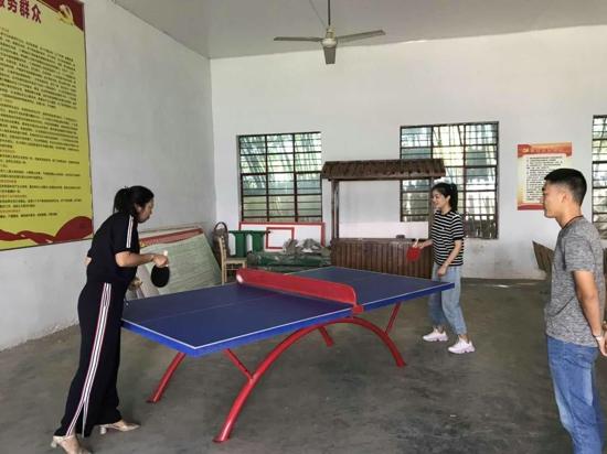 """遂平县石寨镇工会举行""""廉政杯""""  职工乒乓球比赛"""