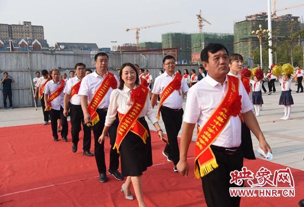 杞县举行庆祝第36个教师节暨表彰大会