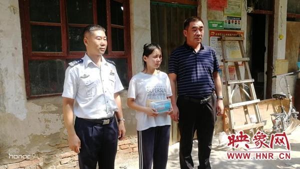 尉氏县水坡镇:爱心传递开学季 贫困助学暖人心