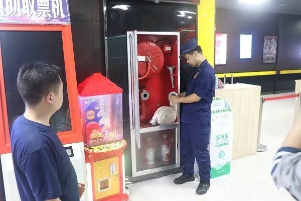 南阳消防救援支队联合多部门开展电影院消防安全检查