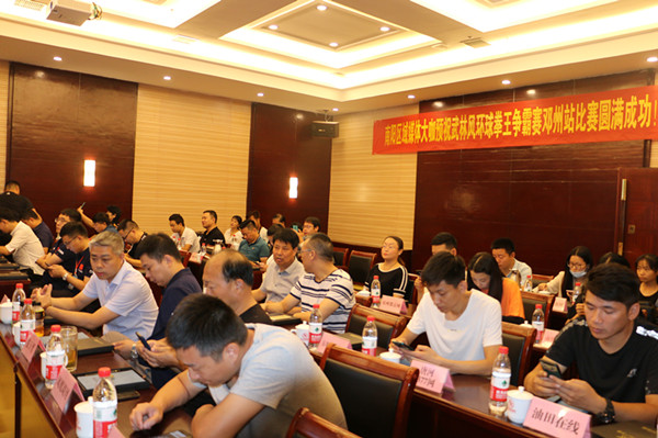 武林风·环球拳王争霸赛9月18日将在邓州市开赛