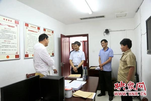 开封龙亭区委书记张正濠到区法院调研一站式多元解纷工作