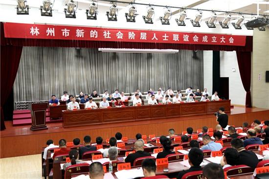 林州市召开新的社会阶层人士联谊会成立大会
