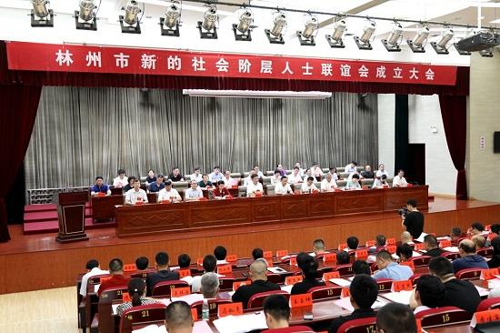 安阳林州市新的社会阶层人士联谊会成立