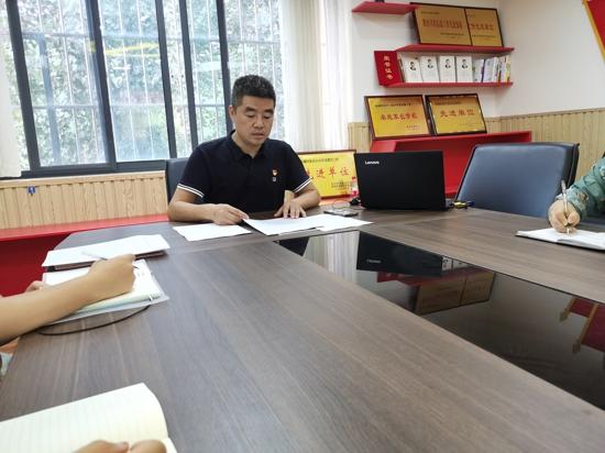 学英雄 讲奉献 有作为——郑州管城区紫东路小学党支部开展主题党课活动