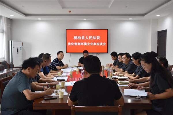桐柏县法院:优化营商环境 温暖企业心田