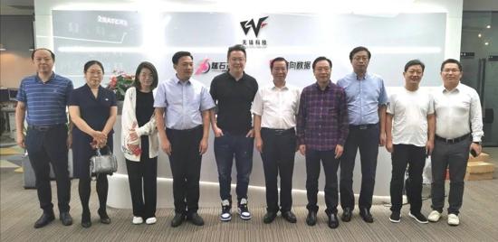 商丘市委常委、宣传部长王全周带队赴上海考察项目