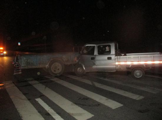 驻马店交警支队事故处理大队院前成功救治一起交通事故伤员
