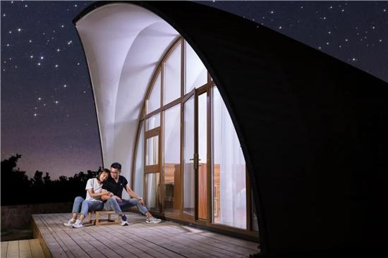 在高山草地,看满天繁星,郑州最近星空营地试运行