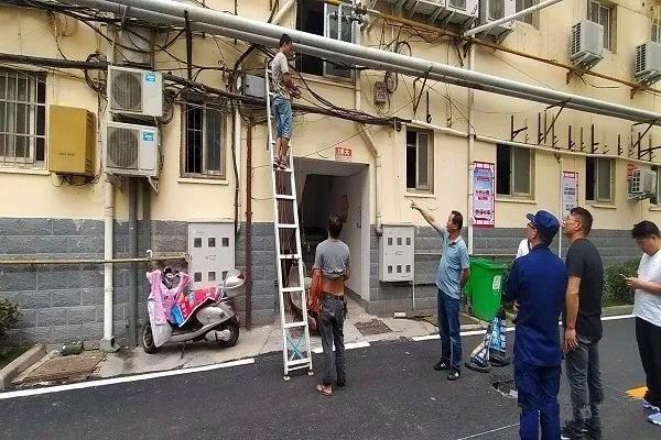 南阳支队依托老旧小区改造推进消防安全管理工作