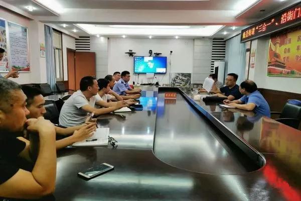 南阳支队开展乡镇街道网格化管理人员消防安全培训活动