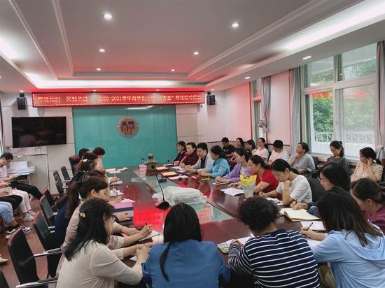 青蓝同心  扬帆起航 ——郑州市管城区南学街小学举行师徒结对活动