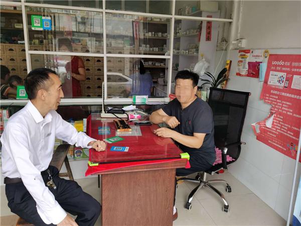唐河县东王集乡:有一种担当叫我是农信人