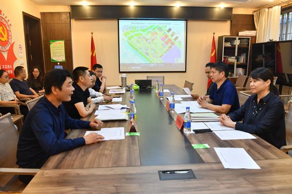 郑州市教育局副调研员花林昌一行调研管城区大班额治理及新校建设项目推进情况