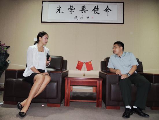 传承红色基因,锻造碧血丹心——访河南省全民国防教育中心主任侯封