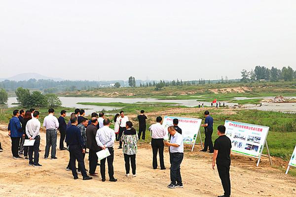 邓州:全域党建聚合力  湍河治理如画来