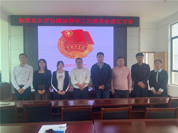 新野县医保局召开青年工作委员会成立大会
