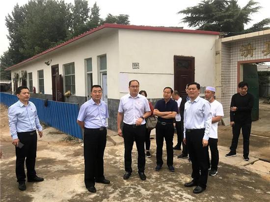 杨福平到郑州市管城区调研