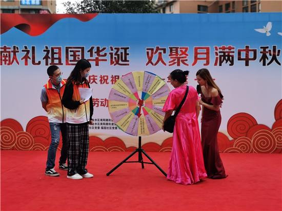 南阳路街道喜迎祖国七十一周年 开展大型文艺汇演宣传活动