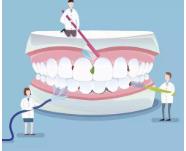 洗牙会让牙缝变大?