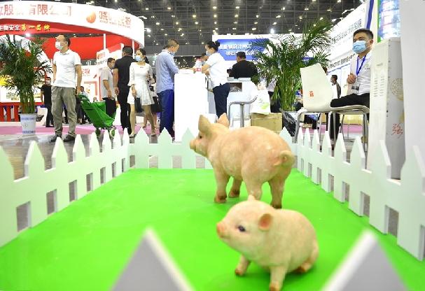 第32届中原畜牧业交易博览会在郑州开幕