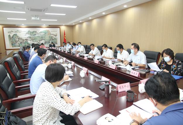 河南省委统战部领导班子理论学习中心组进行了集中学习研讨