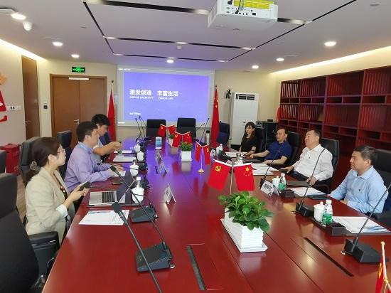 杨福平考察调研新的社会阶层人士网络统战工作