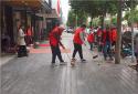 内乡畜牧局积极开展志愿者服务活动全力助推文明城市创建