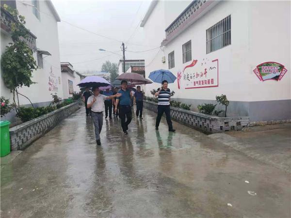 内乡夏馆:改善人居环境  共建美丽乡村