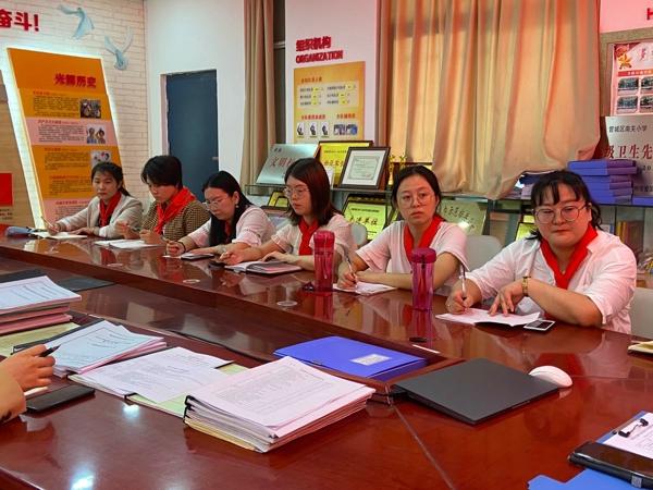 郑州市方楠少先队名师工作室 开展第八次全国少代会精神学习座谈会