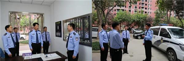 社旗县公安局局长高青检查指导国庆安保工作并慰问执勤民警