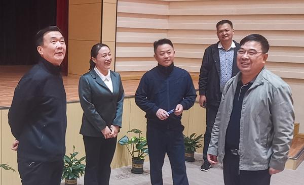 王广军一行调研正阳县城市建设管理和安全生产工作
