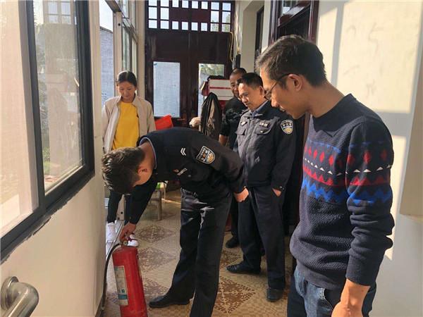 唐河县桐河乡开展敬老院消防安全专项检查