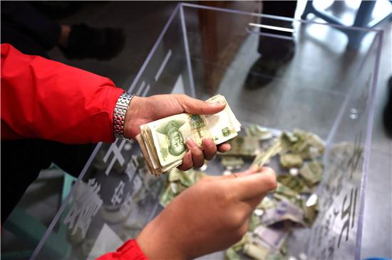 老君山一元午餐完美收官 共售23000份收23458元结账多了458元