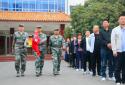 太康毛庄退役军人举行庆祝新中国成立71周年升国旗仪式