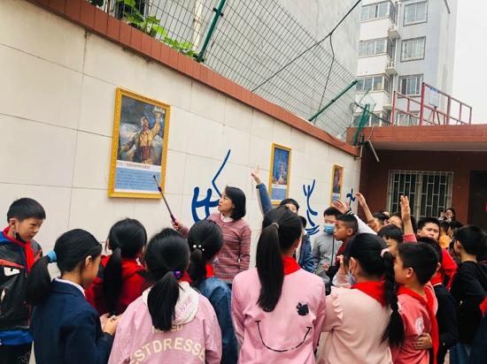 """郑州管城区南学街小学开展""""传承红色基因  争做时代新人""""主题教育活动"""