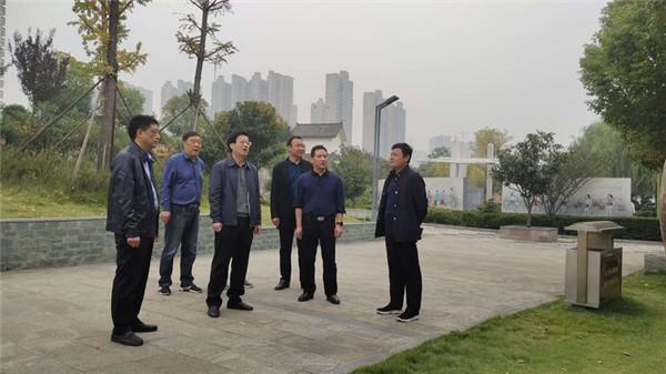 南阳宛城区委书记刘中青率队开展巡河工作