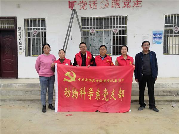 唐河苍台镇:科技特派员赴基层 助力乡村振兴