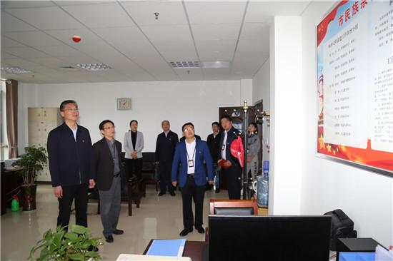 周口市委常委、统战部长赵锡昌到市民族宗教局调研