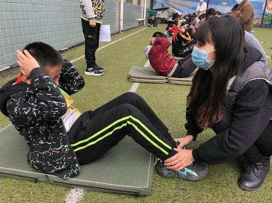 郑州市管城区南学街小学开展体质健康测试暨秋季运动会活动