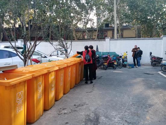 郑州花园路街道:我们来帮忙 垃圾分类不迷茫