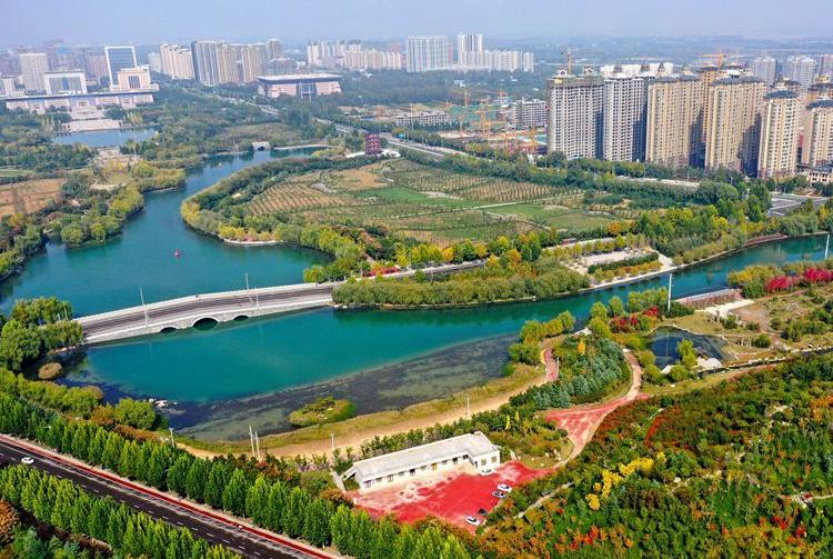 河南许昌:城市因水而美