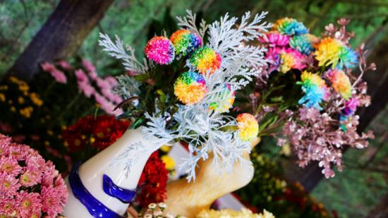 百万名菊齐斗艳,金菊飘香满清园!中国开封第九届国际菊花展在清明上河园盛大开幕