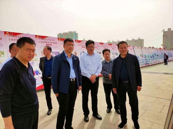 河南西平举办豫南地区最大规模的脱贫攻坚摄影展