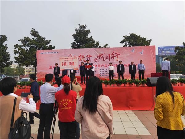 唐河县湖阳镇消费扶贫有声有色