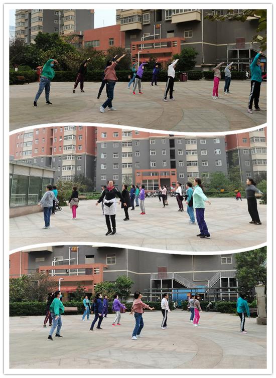 健康律动,活力社区!郑州市花园路街道省水利厅社区成功举办中老年人健身操活动