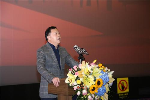郑州奥斯卡影城航海路丹尼斯店举行开业典礼,设计科技感十足